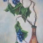 Grapes by Joy Kjellboton
