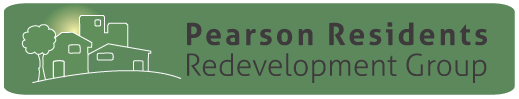 Pearson Residents Redevelopment Group logo