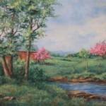 Spring on the Farm by Joy Kjellboton