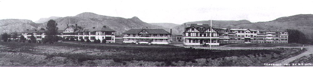 King Edward Sanatorium, now called Tranquille