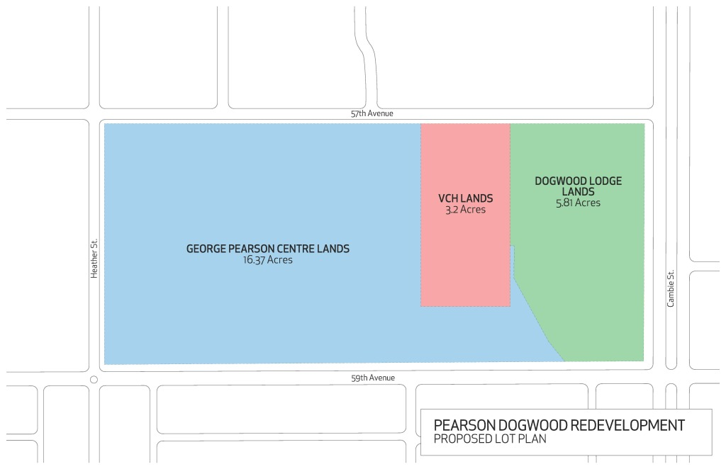 Proposed Pearson Dogwood Land Division Map