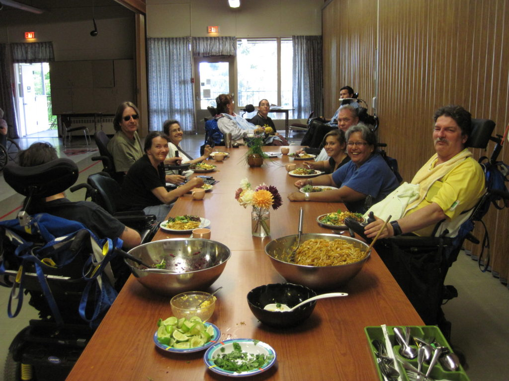 GPC Community Kitchen meal